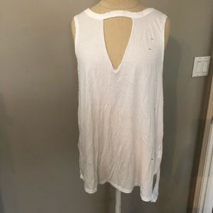 Distressed tank top American Eagle Outfitters EUC